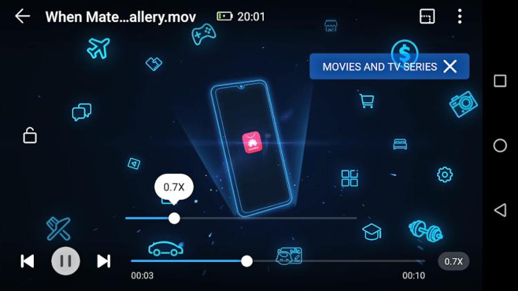 تحميل مشغل الفيديو للاندرويد HUAWEI Video Player
