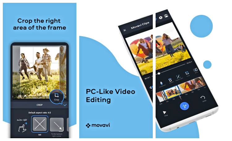 تحميل برنامج مونتاج وتحرير الفيديو للاندرويد Movavi Clips