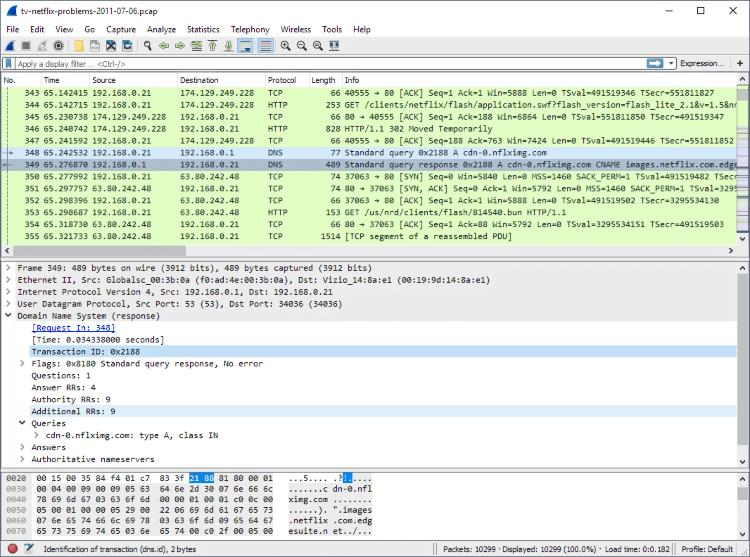 تحميل برنامج تحليل الشبكات الداخلية Wireshark للكمبيوتر