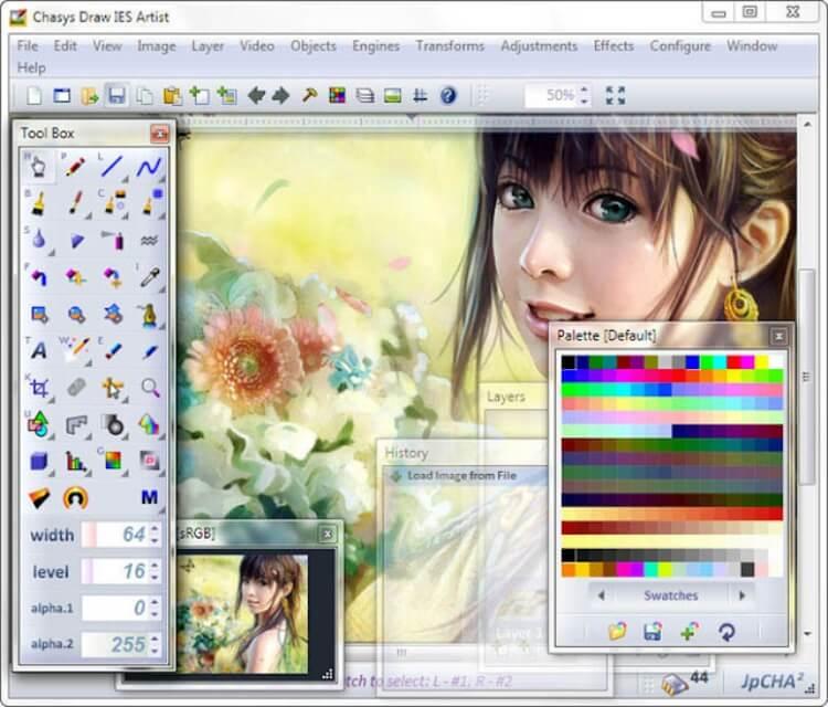 تحميل برنامج Chasys Draw IES محرر الصور للكمبيوتر