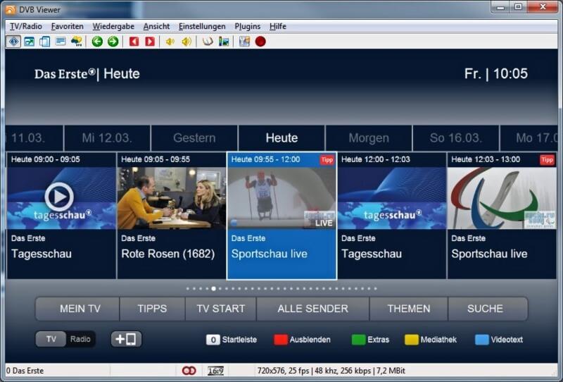تحميل برنامج DVBViewer لمشاهدة القنوات الفضائية للكمبيوتر