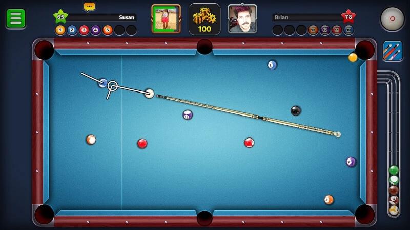 تحميل لعبة البلياردو للاندرويد 8 Ball Pool رابط مباشر
