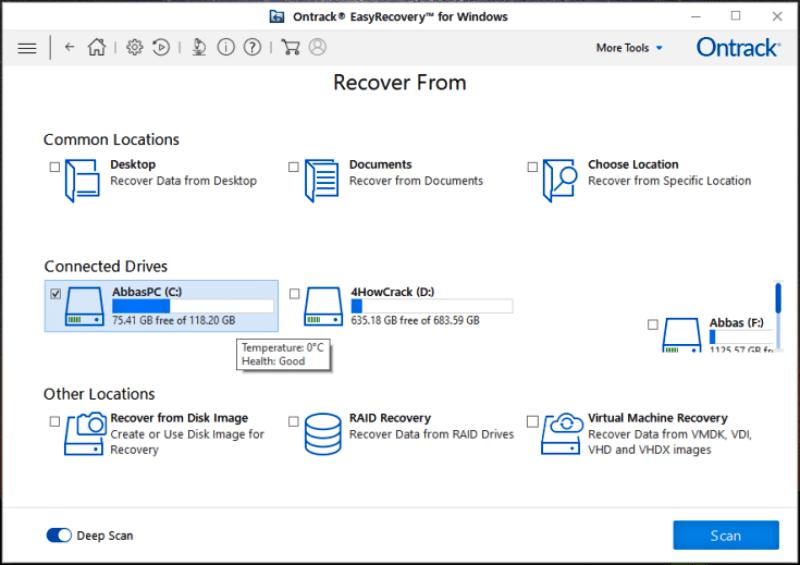 تحميل برنامج Ontrack EasyRecovery لاستعادة الملفات التالفة والمحذوفة