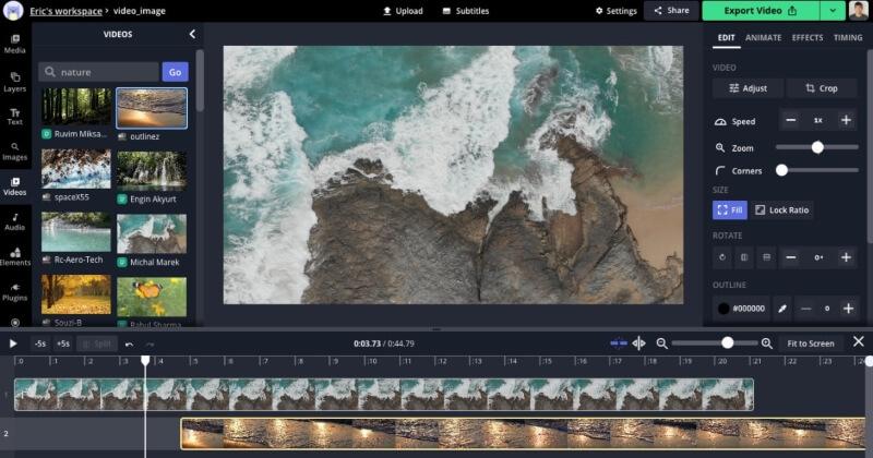 موقع تعديل و تحرير الفيديو Kapwing اون لاين بدون تحميل