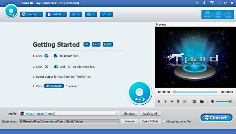 تحويل الفيديوهات الى البلوراي ، Blu-ray Converter